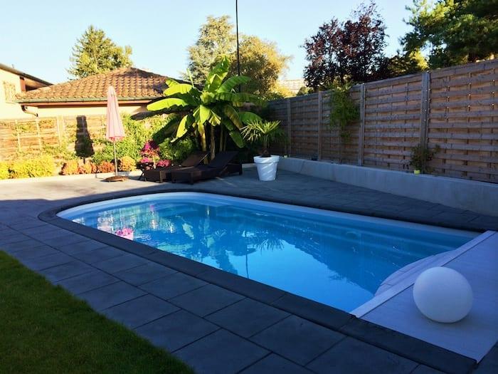 Création piscine coque